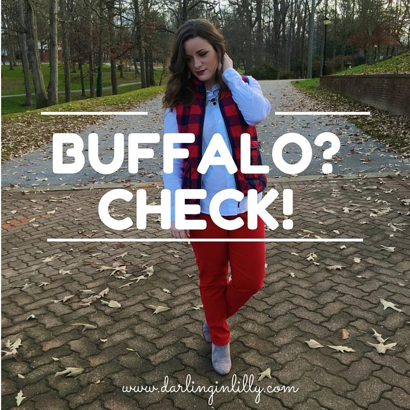 Buffalo?Check!