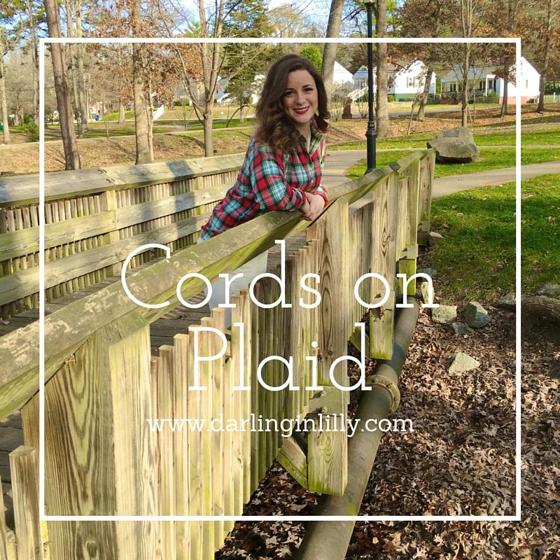 Cords on Plaid-2